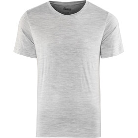 Bergans Oslo Wool T-shirt Heren, grey melange